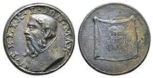 Papal, Felice I (269-274). Æ Restitutional ...