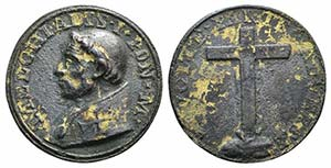 Papal, Milziade (302-314). Gilt Æ ...
