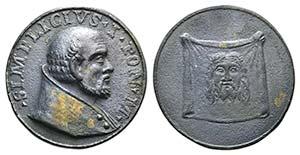 Papal, Simplicio I (468-483). Æ ...