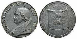 Papal, Adeodato I (615-618). Æ ...