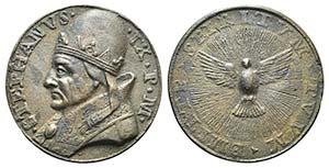Papal, Stefano IX (1057-1058). Æ ...