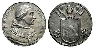 Papal, Innocenzo V (1276-1276). Æ ...