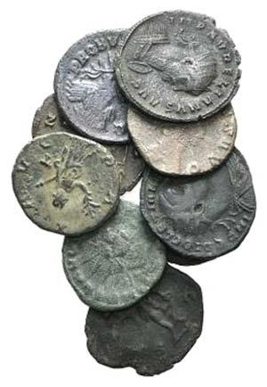Lot of 10 Roman Imperial Antoninianii - ...