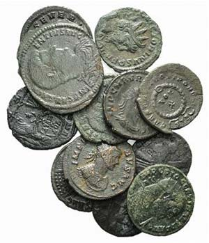 Lot of 12 Roman Imperial Antoniniani (7) and ...