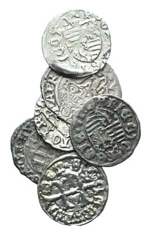 Lot of 6 Modern BI coins, to be catalog. Lot ...