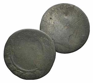 Lot of 2 Modern BI coins, to be catalog. Lot ...