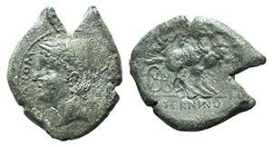 Samnium, Aesernia, c. 263-240 BC. Æ (22mm, ...