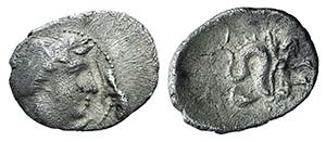 Campania, Allifae, c. 325-275 BC. AR Obol ...