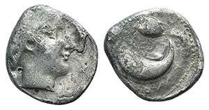 Campania, Cumae, c. 420-385 BC. AR Didrachm ...