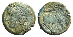 Campania, Neapolis, c. 270-250 BC. Æ (16mm, ...