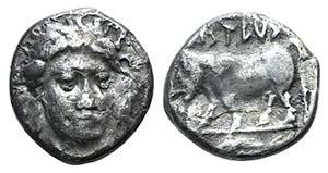 Campania, Phistelia, c. 405-400 BC. AR ...