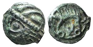 Celtic, Northeast Gaul. Leuci, 100-50 BC. ...
