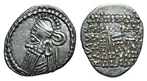 Kings of Parthia, Vologases IV (AD 147-191). ...