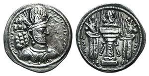 Sasanian Kings of Persia. Shapur II ...