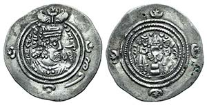 Sasanian Kings of Persia. Khusrau II ...