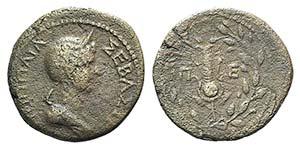 Poppaea (Augusta, 62-65). Thrace, ...