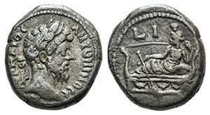Marcus Aurelius (161-180). Egypt, ...