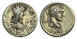 Caracalla with Rhescuporis II (King of ...