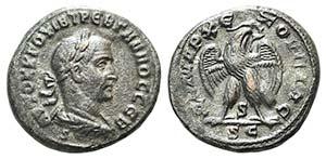 Trebonianus Gallus (251-253). Seleucis and ...