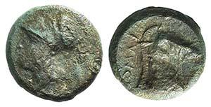 Anonymous, Rome, c. 260 BC. Æ (16mm, 5.14g, ...
