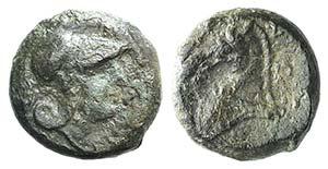 Anonymous, Rome, c. 260 BC. Æ (17mm, 5.72g, ...