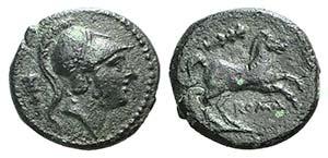 Club series, Rome, c. 230-226 BC. Æ (15mm, ...