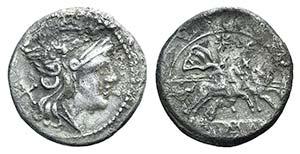 Anonymous, Rome, after 211 BC. AR Denarius ...