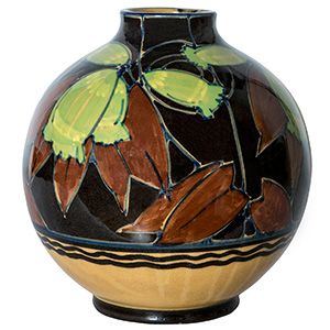 SICLA - ROMA  Carafe decorated with vegetal ...