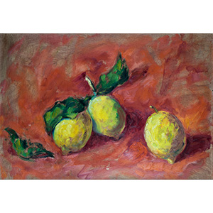 NINO BERTOLETTI Rome, 1889 - 1971  Lemons ...