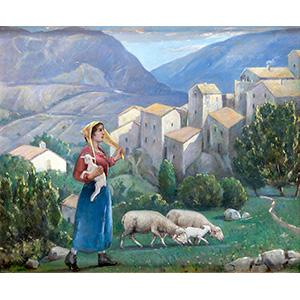 RANIERO AURELI Rome, 1885 - 1975  Country ...