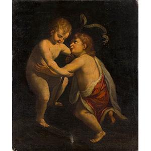PITTORE ANONIMO BOLOGNESE    Gesù Bambino e ...
