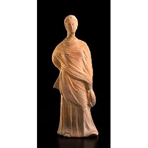 Statuetta femminile del tipo Tanagra Italia ...