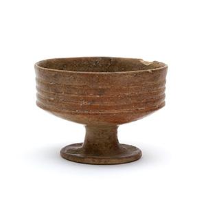 Calice in impasto Etruria, VIII secolo a.C.; ...