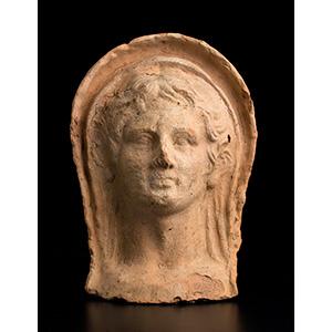 Testa votiva  Italia centrale, III secolo ...