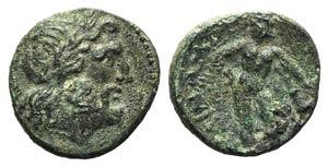 Southern Apulia, Sidion, c. 300-275 BC. Æ ...