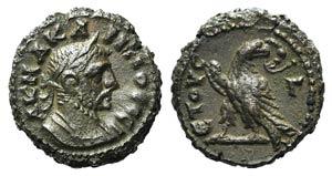 Carinus (283-285). Egypt, Alexandria. BI ...