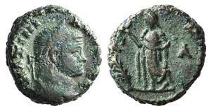 Maximianus (286-305). Egypt, Alexandria. BI ...