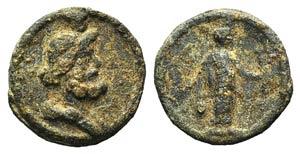 Roman PB Tessera, c. 2nd-3rd century AD ...