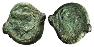 Anonymous, Neapolis, after 276 BC. Æ (19mm, ...