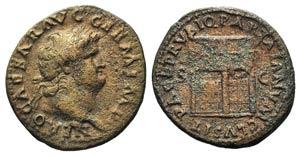 Nero (54-68). Æ As (28mm, 10.45g, 6h). ...