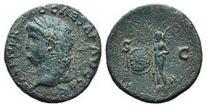 Nero (54-68). Æ As (26mm, 8.98g, 6h). Rome, ...