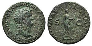 Nero (54-68). Æ As (27mm, 10.70g, 6h). ...