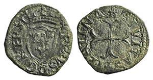 Italy, Chieti. Carlo VIII (1495). Æ Cavallo ...