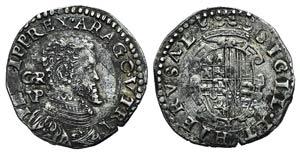 Italy, Napoli. Filippo II (1556-1598). AR ...