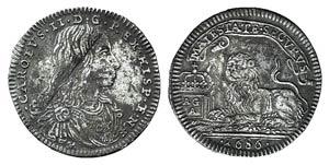 Italy, Napoli. Carlo II di Borbone ...