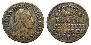 Italy, Orbetello. Ferdinando IV di Borbone ...
