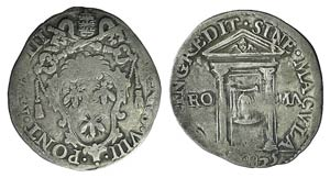 Italy, Papal, Urbano VIII (1623-1644). AR ...