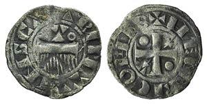 France, Provins. Thibaut II (1125-1152). BI ...