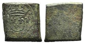 France, Æ Tessera, c. 16th century (14mm, ...