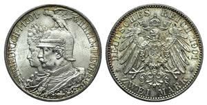 Germany, Prussia. Wilhelm II (1888-1918). AR ...